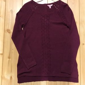 Candies size small sweater